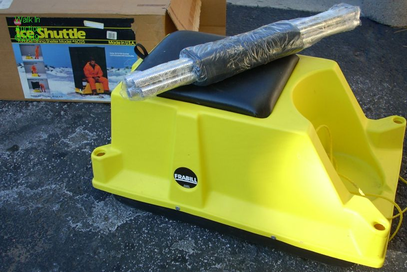 Wtb frabill ice shuttle colorado fishing forum for Ice fishing shelters for sale